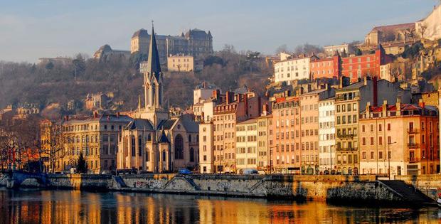 Eindrucksvollen Sehenswürdigkeiten in Lyon