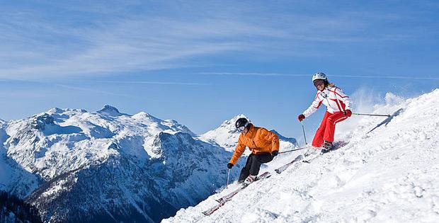 Ski für Wintersportart