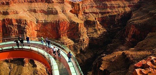 Der Gran Canyon Skywalk in Colorado